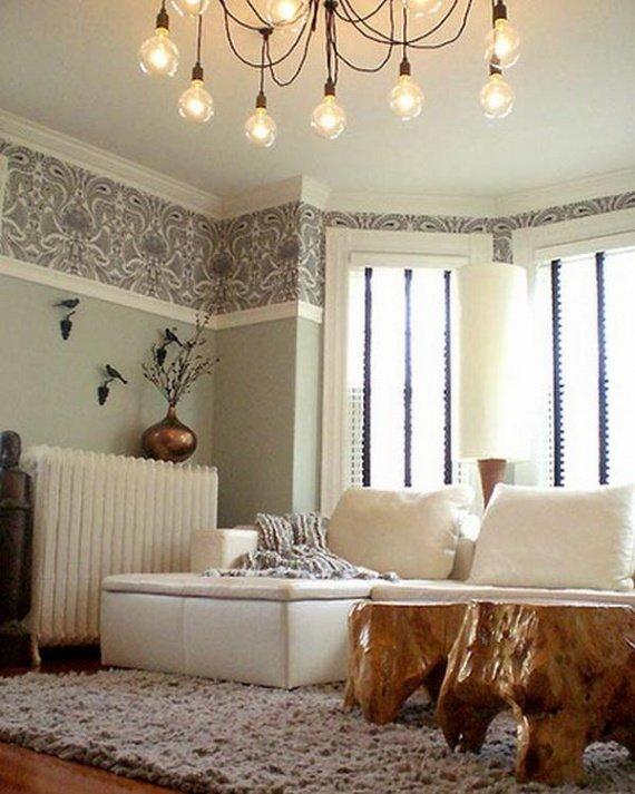 Ru for Wallpaper borders for living room