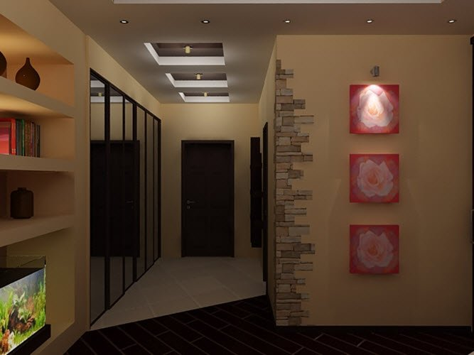 Дизайн коридора в хрущевке фото