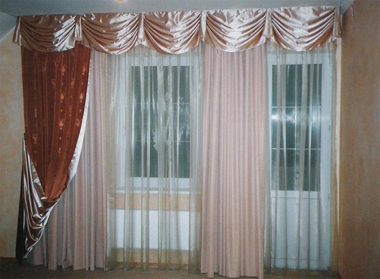Дизайн штор для зала 36 фото для