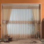 дизайн занавесок для зала