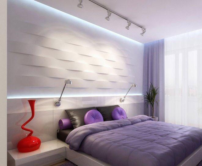 Дизайны спален хай тек дизайн