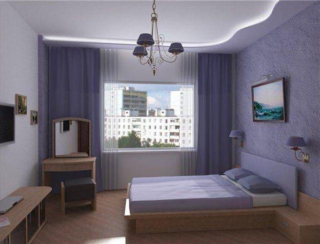 Ремонт дизайн маленькой спальни