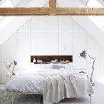 дизайн мансарды спальни фото
