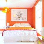 отделка стен в спальне фото