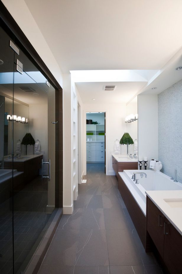 Small narrow bathroom ideas