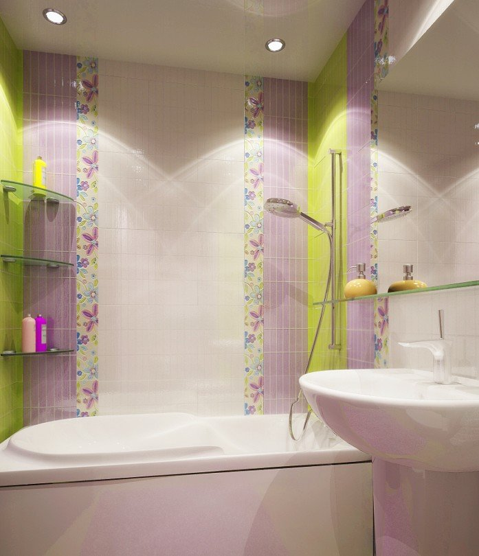 Дизайн ванной комнаты в хрущевке - 36
