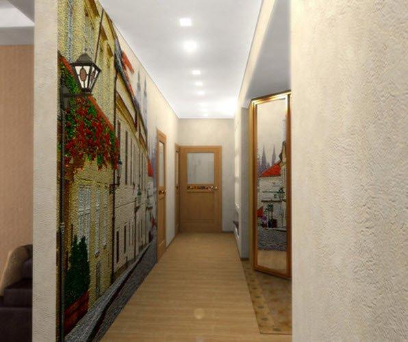 Фотообои в интерьере прихожей - 35 фото ...: www.v-interere.ru/fotografii-intererov/fotooboi-v-interere...