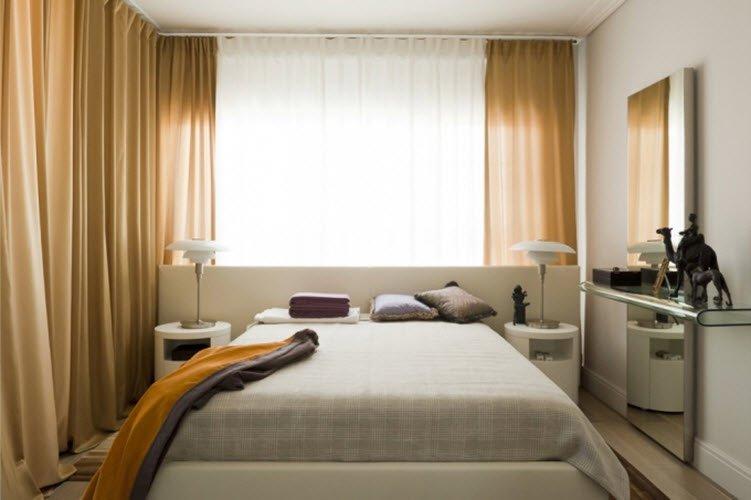Спальня 8 кв м дизайн