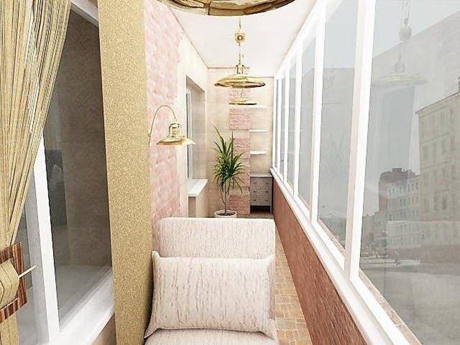Обустраиваем балкон или лоджию.