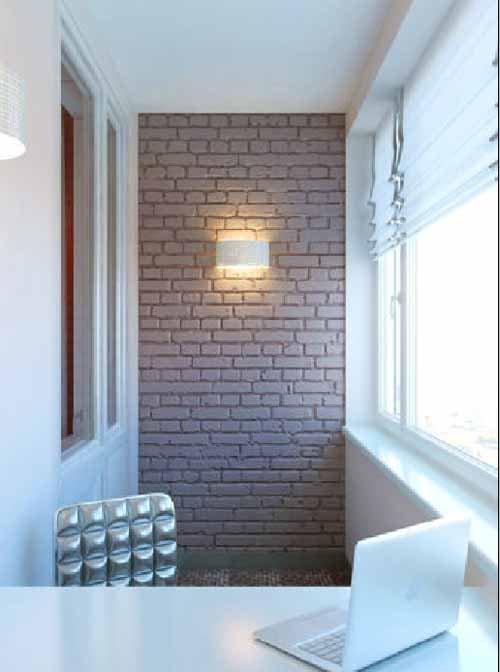Отделка искусственным камнем балкона санкт-петербург.
