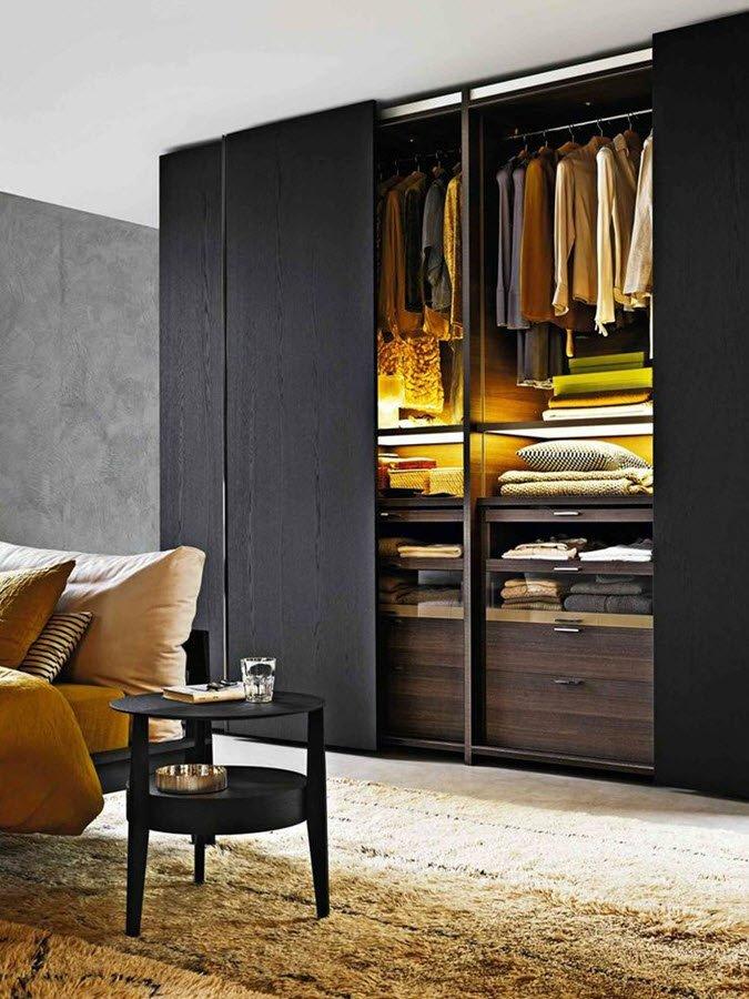Платяные шкафы в интерьере фото