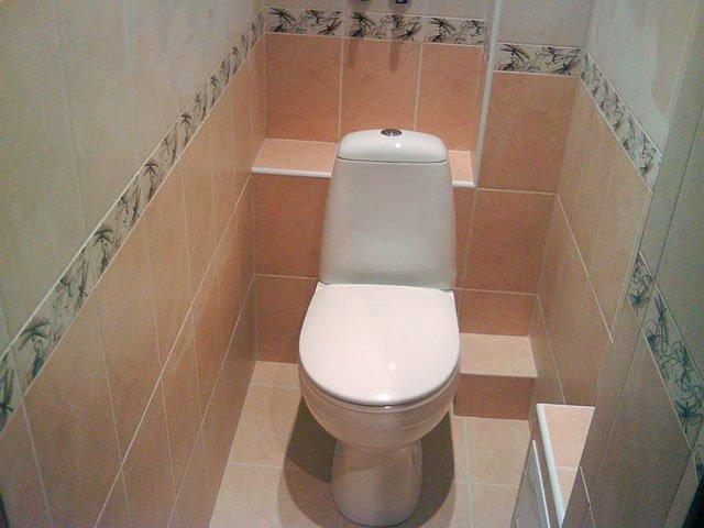Дизайн ремонт туалета своими руками