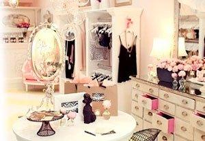 Дизайн интерьера гардеробной