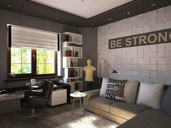 Фото дизайн комнаты для гостей