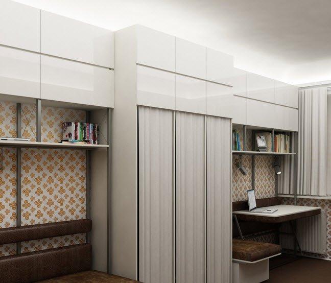Дизайн для маленькой комнаты в общежитии