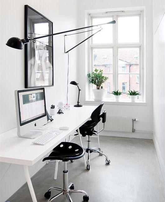 Дизайн узких комнат с окнами