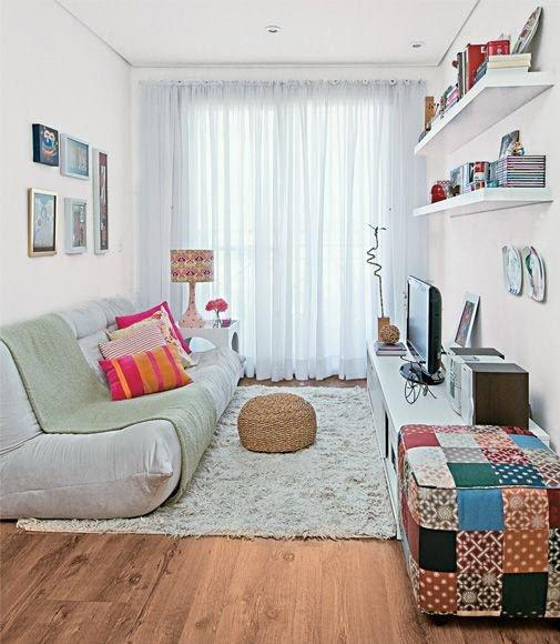 Идеи для ремонта узкой комнаты