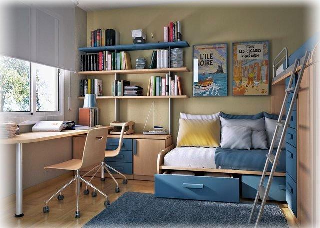 Как обустроить комнату школьника