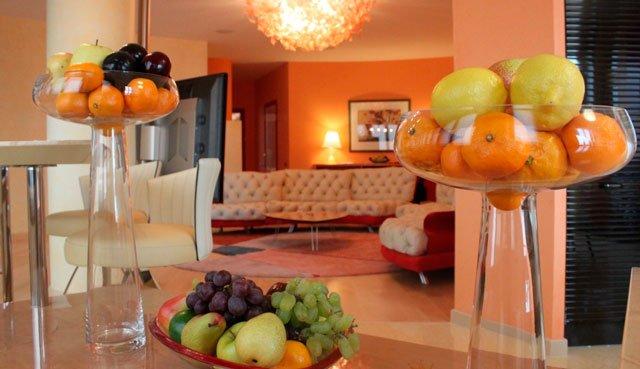Апельсины в интерьере