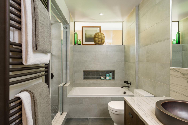 Дизайн небольшой ванной комнаты современные идеи