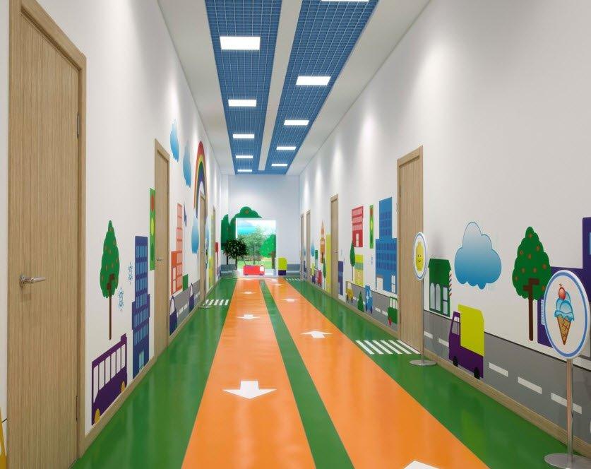 Дизайн для сайта детского сада