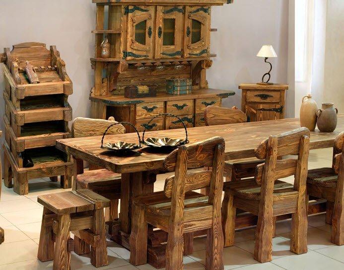 Деревянные изделия под старину