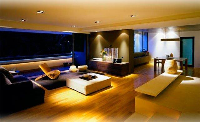 Светодиодное освещение в квартире фото