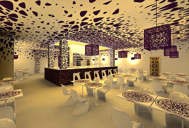 Виды дизайнов интерьера ресторана