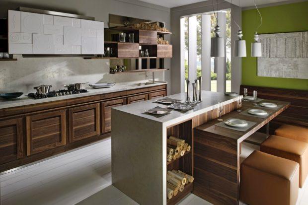 Современный дизайн кухни 2017