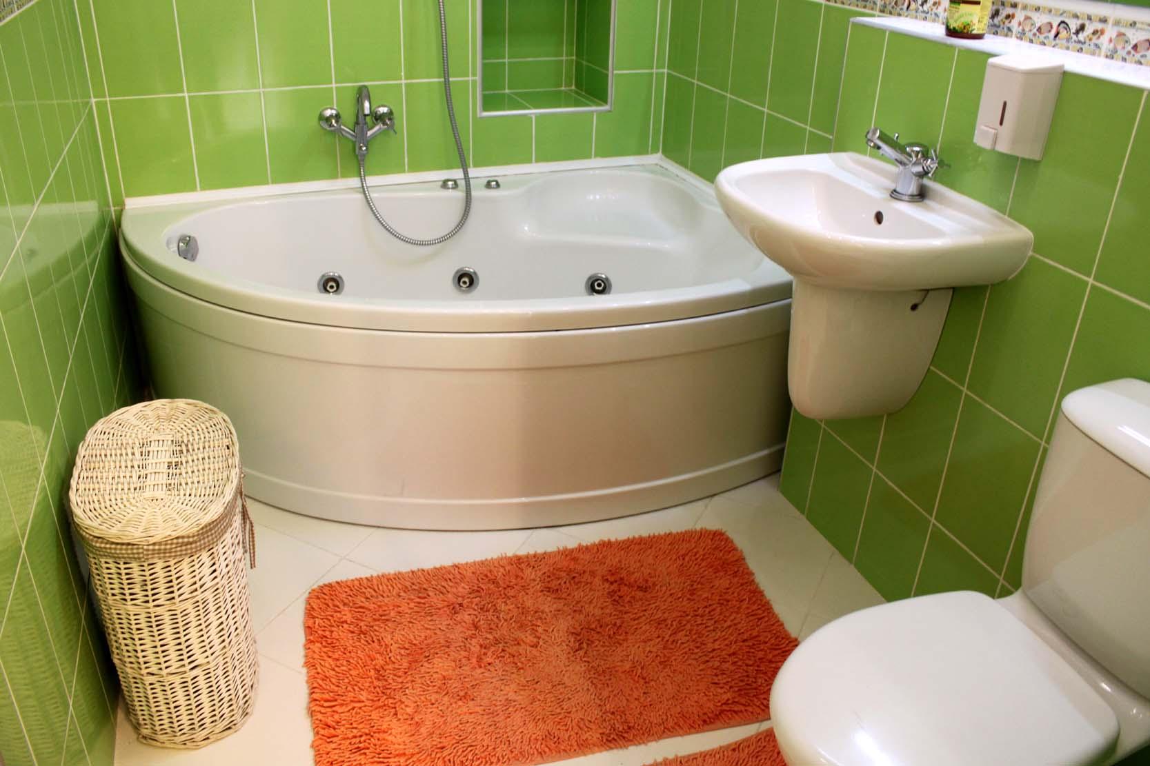 Отделка маленькой ванной комнаты дизайн