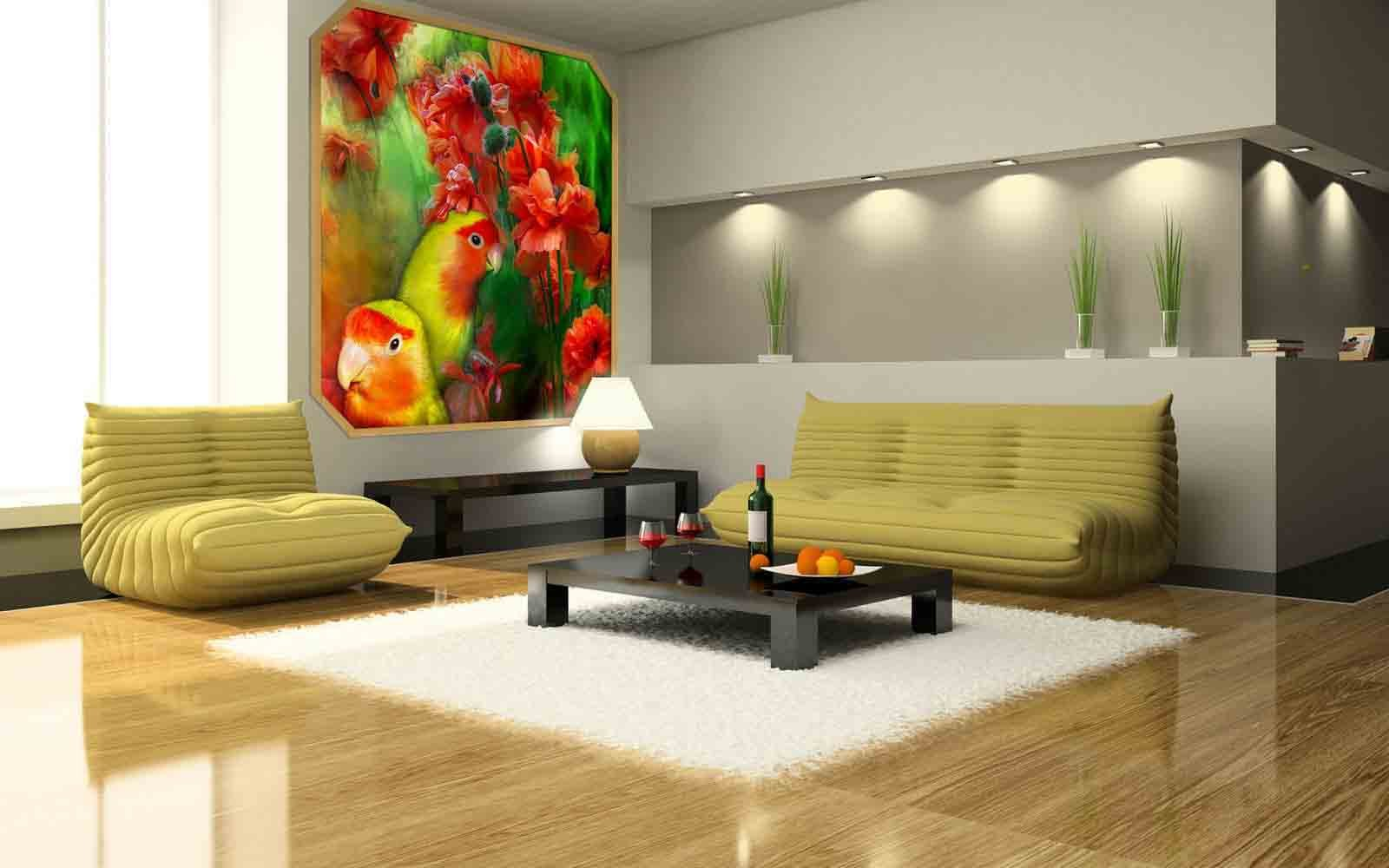 Zimmer Gestalten Wohnzimmer