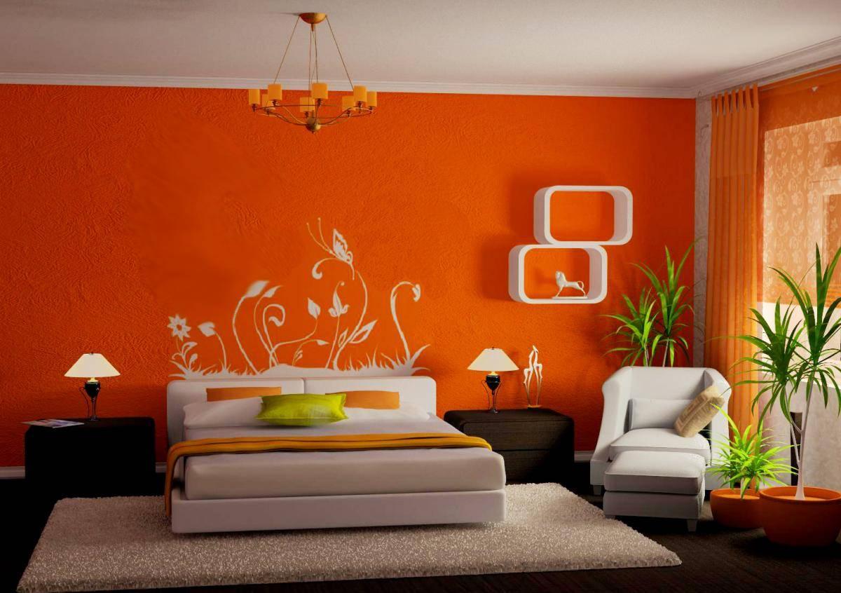 Фото дизайна стен-обой