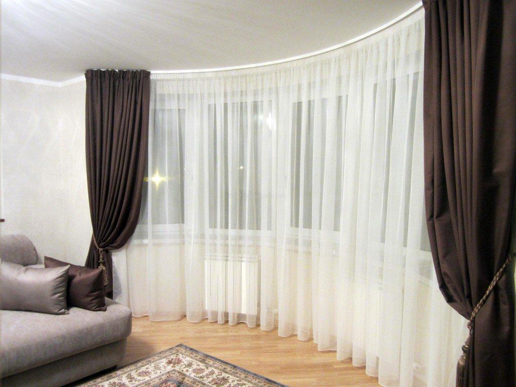 Идеи занавесок для зала
