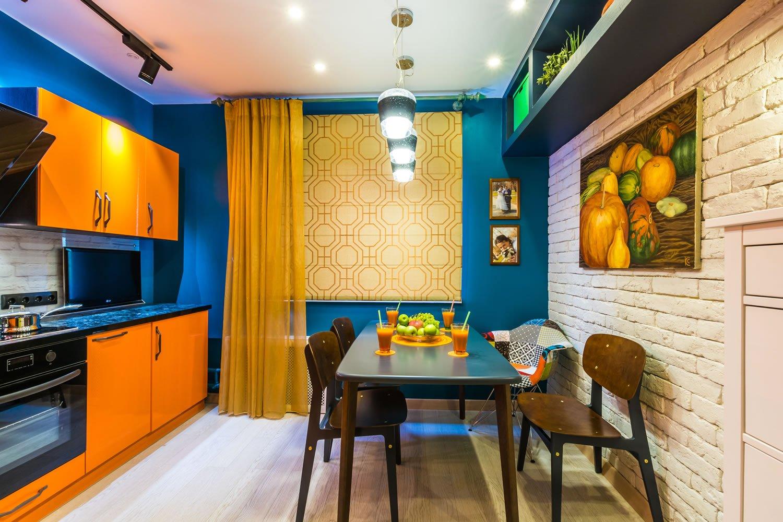 Дизайн кухни на 10 кв метров