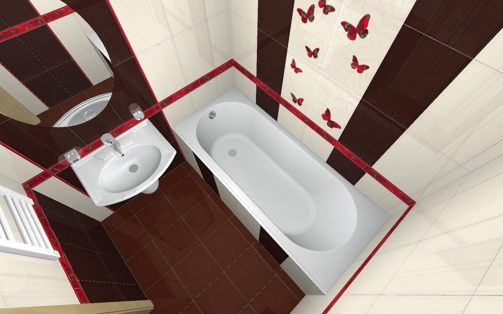 Идеи дизайна стандартных ванн
