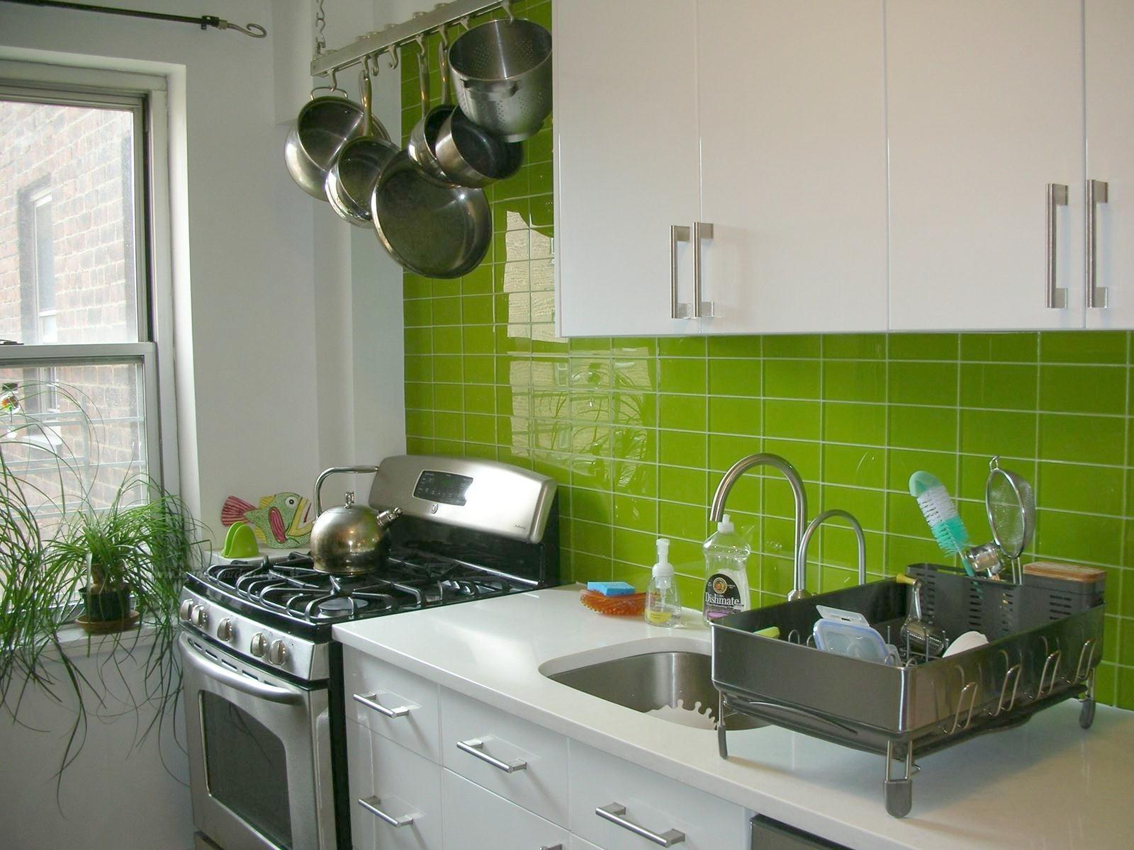 Плитка для маленькой кухни на кухни дизайн