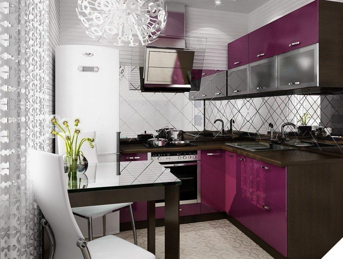 Красивые кухни в хрущевках фото