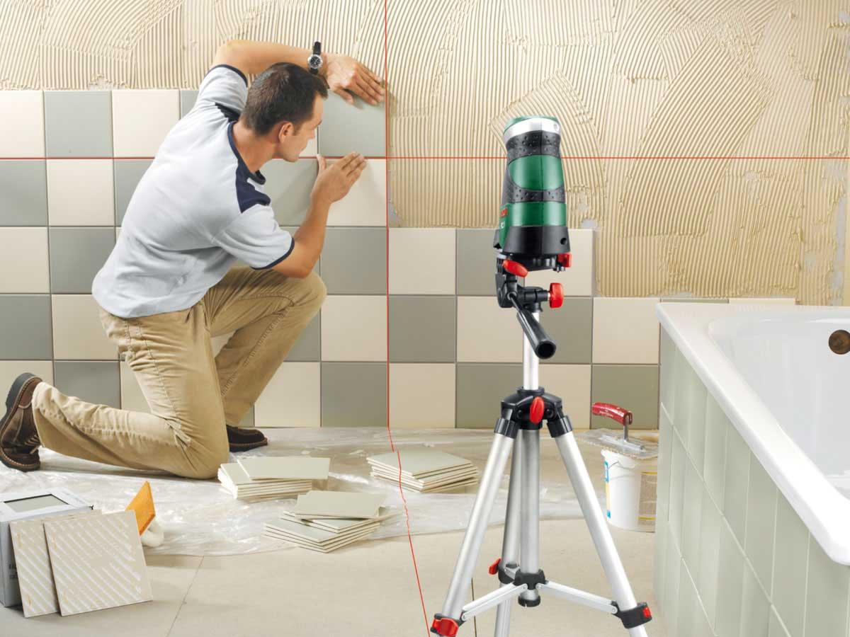 Как уложить плитку в ванной комнате своими руками