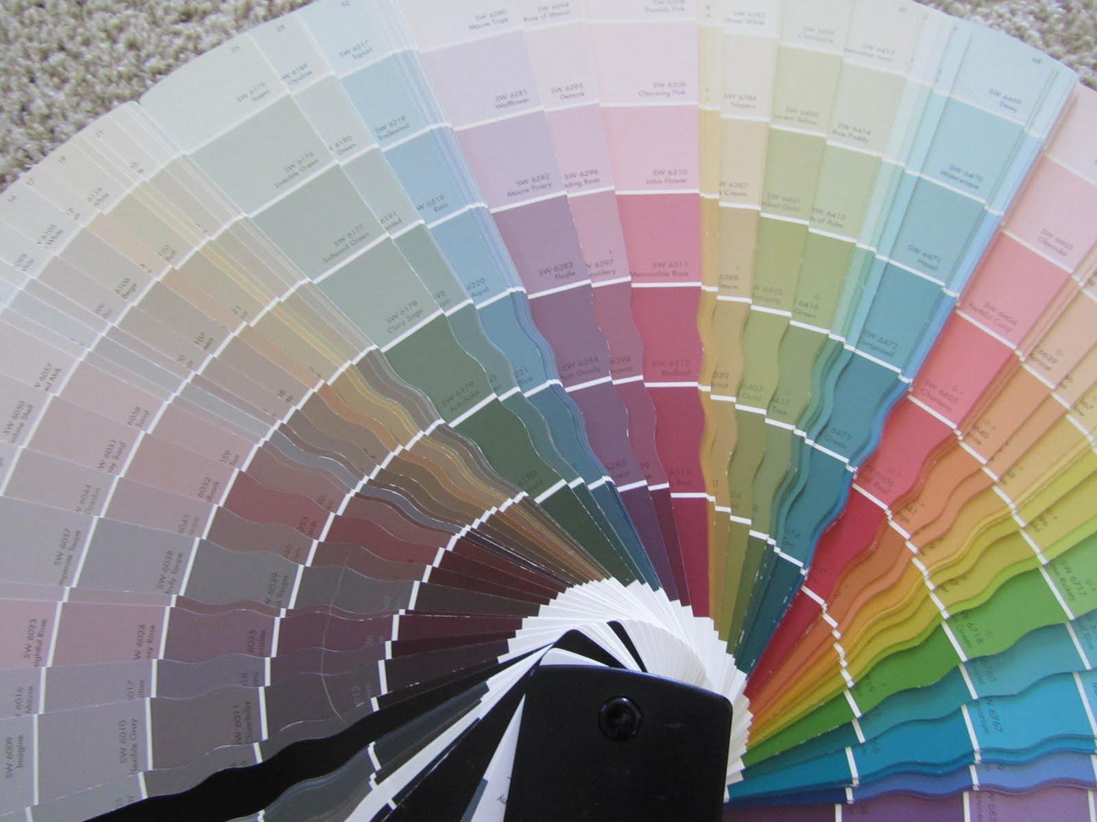 Цвета красок для стен фото