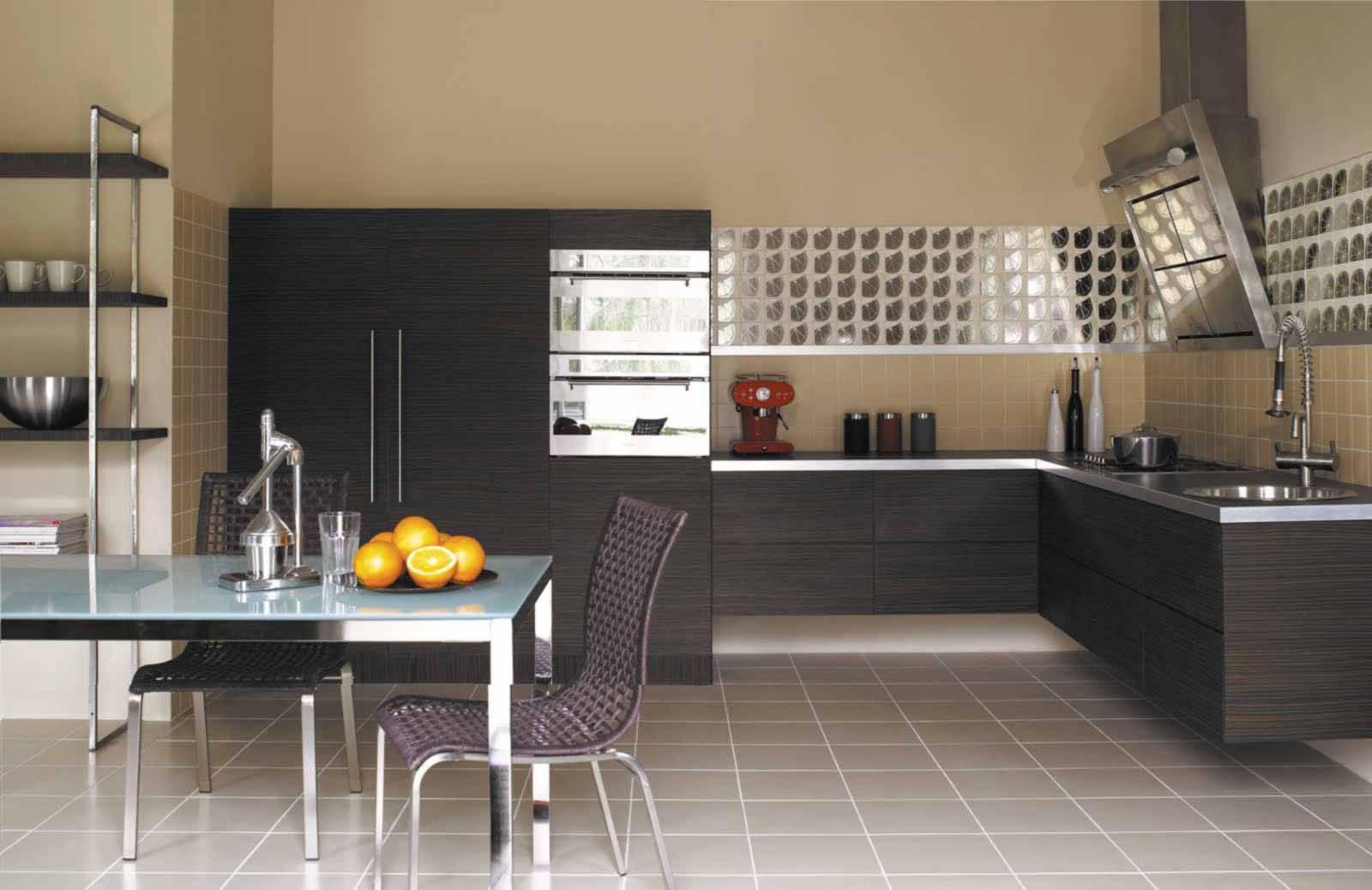 Фото дизайн кухни по плитки