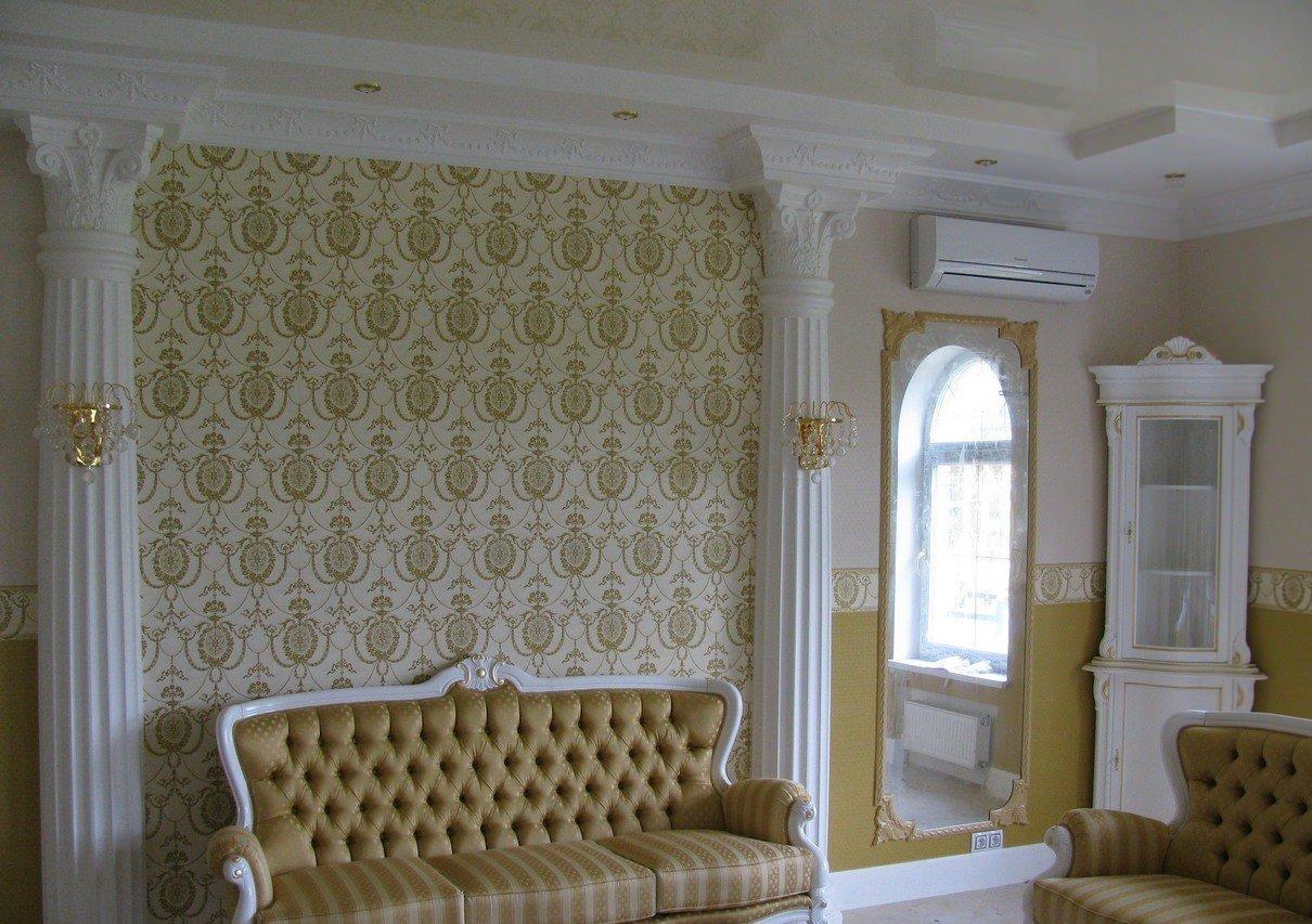 Молдинги для стен: 40 фото лучших идей декор комнаты 66