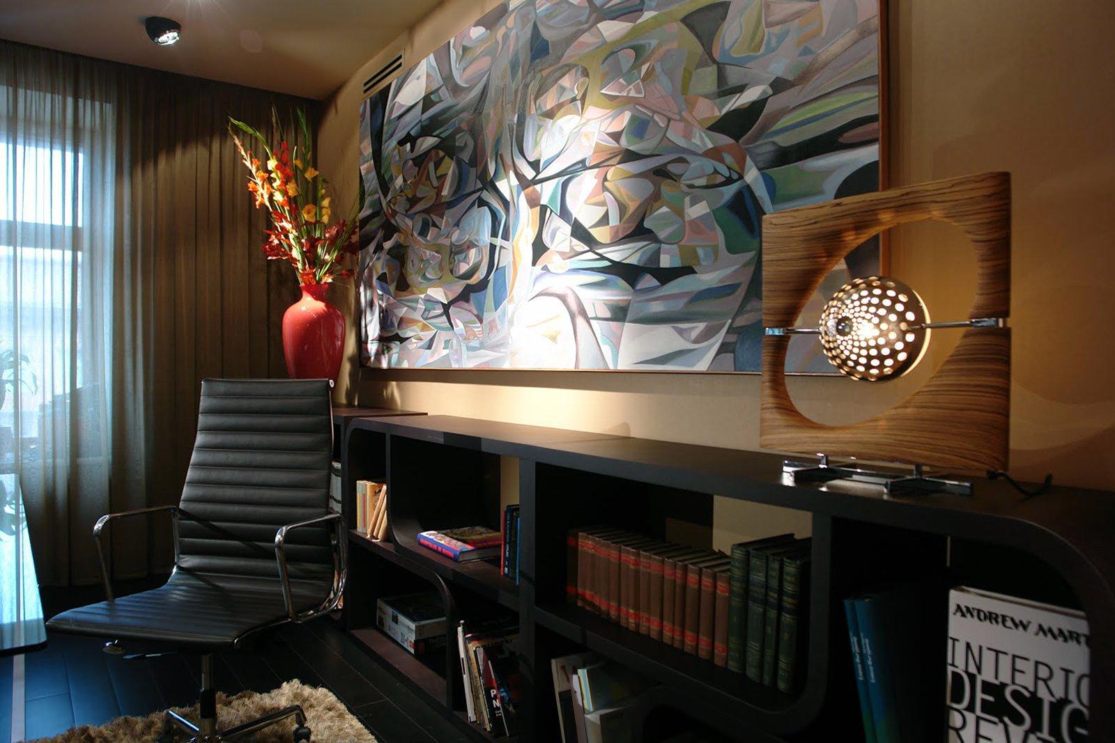 Украшаем стены рабочего кабинета блог о дизайне интерьера в .