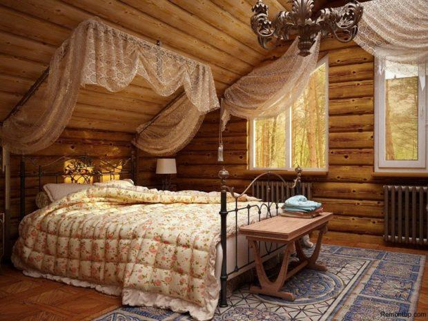 Спальня в деревне