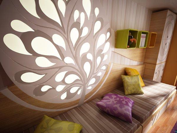 дизайн для детской комнаты для девочки