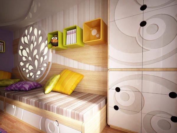 дизайн для детской комнаты для мальчика