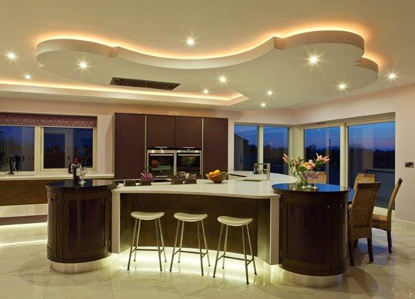 дизайн интерьер кухни столовой