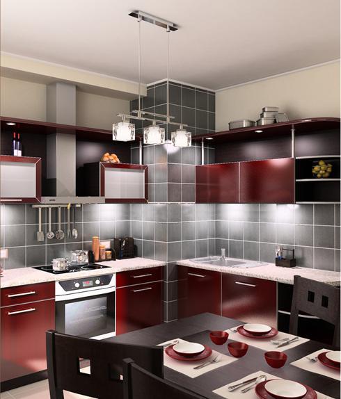 дизайн интерьера мебель на кухне