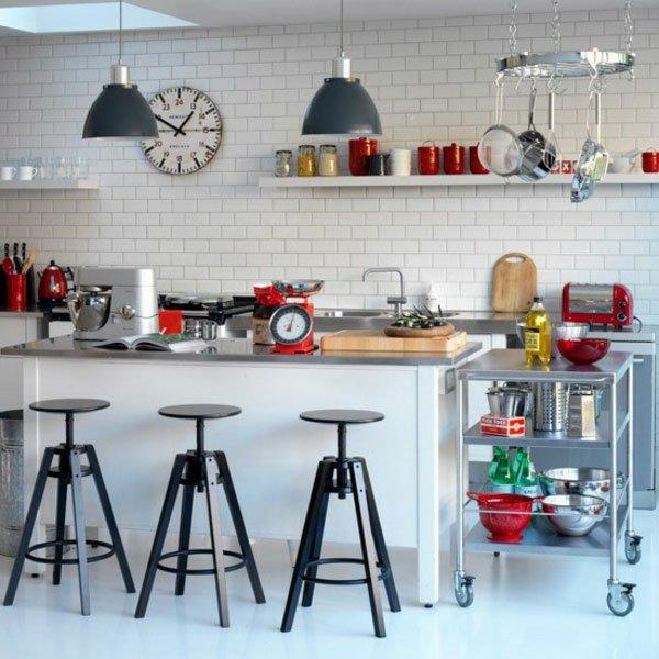 дизайн кухни барная стойка