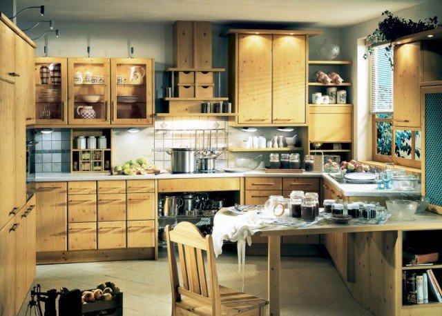 дизайн кухни частный дом