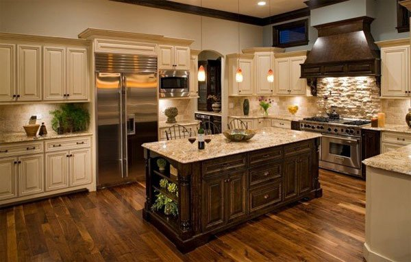 дизайн кухни ретро